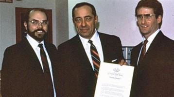 Butzow Cuomo and Wes Davis 1987